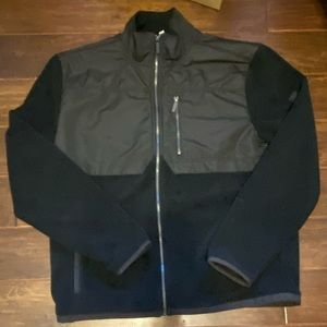 CALVIN KLEIN FLEECE JACKET XL; LIKE NEW CONDITION